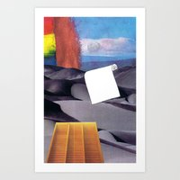 tool Art Prints featuring Spill Tool by Ventral Is Golden