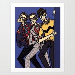 file 082. american boys pt.2 Art Print