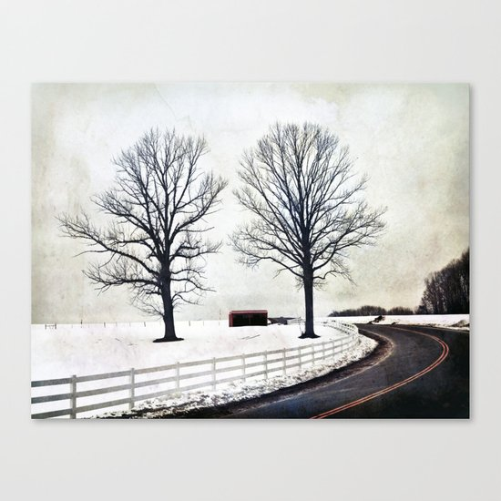 Bended Canvas Print