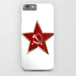 Soviet Badge Insigni iPhone Case
