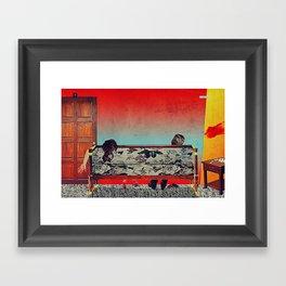 28 Feet Under Framed Art Print