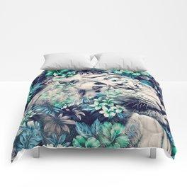 Floral Tiger Comforters