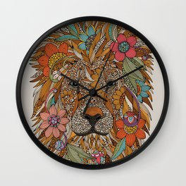 The Lion Wall Clock