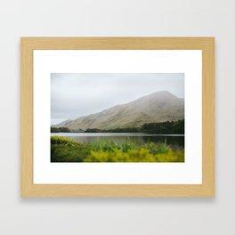 Kylemore Mountains  Framed Art Print