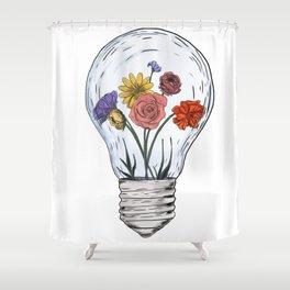 Blossom ideas Shower Curtain