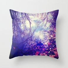 Winter Reflection Throw Pillow