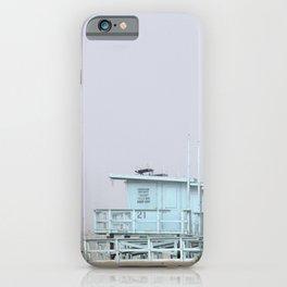 Colorful Lifeguard Stands Venice Beach California iPhone Case