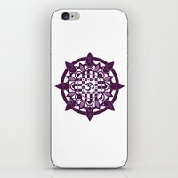 yoga iPhone & iPod Skins featuring Yoga by Janava