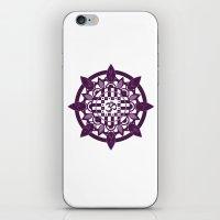 yoga iPhone & iPod Skins featuring Yoga by Janava