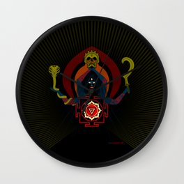 Hindu-Shirt .:kali's fury - PGR Wall Clock