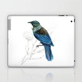 Tui, New Zealand native bird Laptop & iPad Skin