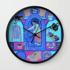 Ye Oldé Grandma Triptych Wall Clock