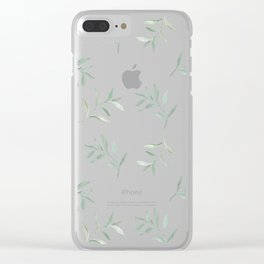 Airy Watercolor Vine By Journey Home Made Clear iPhone Case