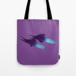A pair of Arrow Dart-Goby fish Tote Bag