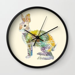Ugly Sweater Hare Wall Clock