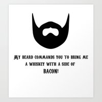 whiskey Art Prints featuring Whiskey by AlternateDecision