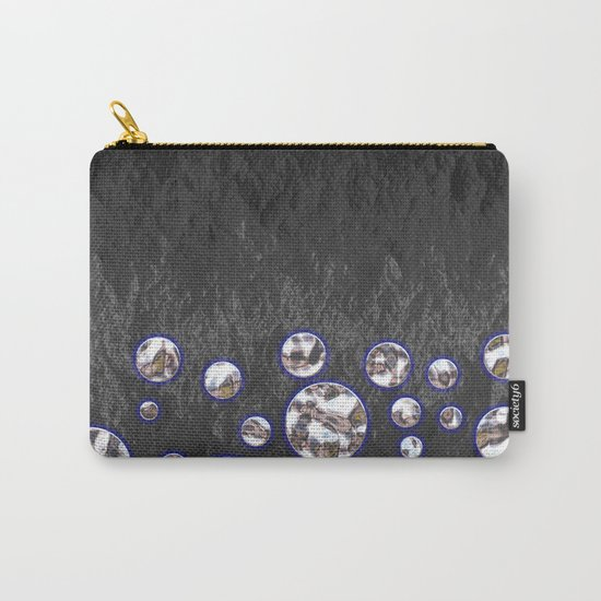 Asteroid Belt of Silver Moons Carry-All Pouch