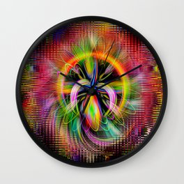 Abstract in Perfection - Magic of the circle 2 Wall Clock