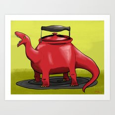 Dinotea Art Print