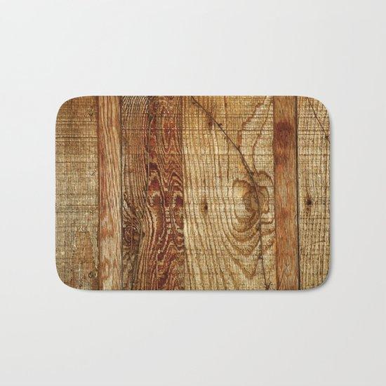 Wood Photography Bath Mat