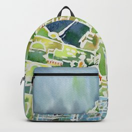 Watercolour of Liverpool Backpack