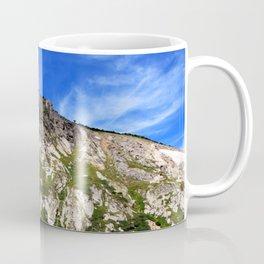 Watercolor Landscape, St Marys Glacier 01, Colorado Coffee Mug