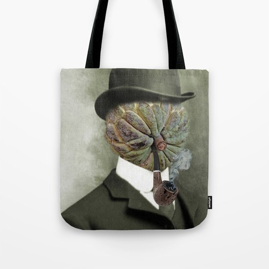 Sir Custard Bowler Tote Bag