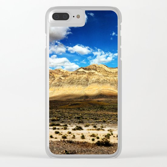 Death Valley Beauty Clear iPhone Case