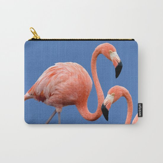 Flamingo Contrast #society6 #decor #buyart Carry-All Pouch
