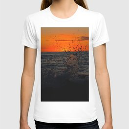 Sunset Splash Kona T-shirt