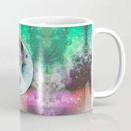 Spacial Yin Yang Coffee Mug