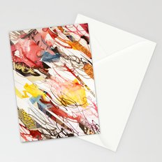 comic letter 2 Stationery Cards
