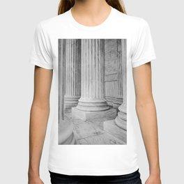 Columns at the US Supreme Court T-shirt