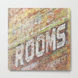 Rooms Metal Print