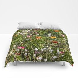 Field of Wild Flowers Comforters
