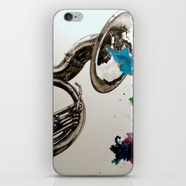 Contradiction iPhone Skin