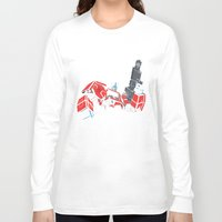 transformers Long Sleeve T-shirts featuring Transformers - Optimus Prime by Evan DeCiren