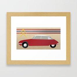 Futuristic Car 1965 Framed Art Print
