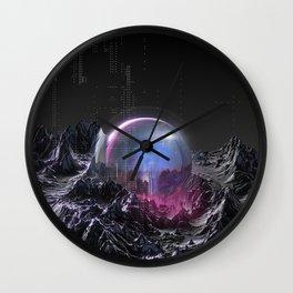 Geosphere II Wall Clock