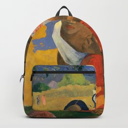 Affordable Art $300,000,000 When Will You Marry by Paul Gauguin Backpack