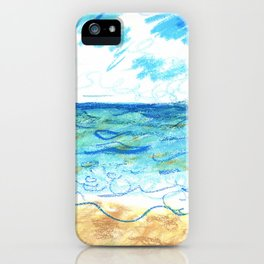 The Beach Front iPhone Case