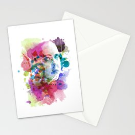 Rae in Watercolors Stationery Cards