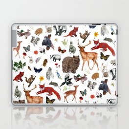 Wild Woodland Animals Laptop & iPad Skin