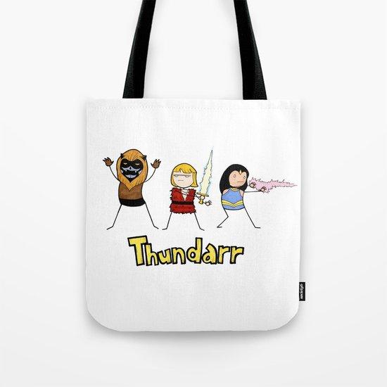 Thundarr the Barbaraian Tote Bag