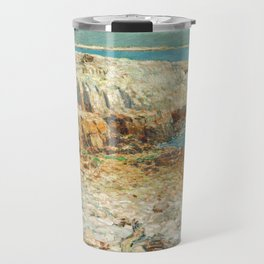 A North East Headland 1901 by Childe Hassam Travel Mug