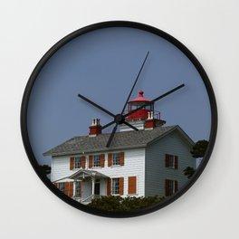 Yaquina Bay Ligthhouse Wall Clock