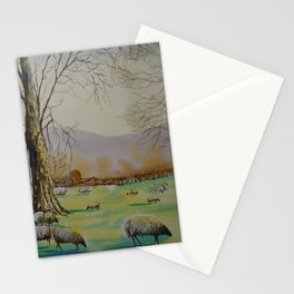 En plein air 7th april Stationery Cards
