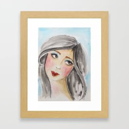 Jillian Framed Art Print