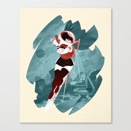 Kickass Annie Canvas Print