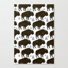 Follow The Herd Canvas Print